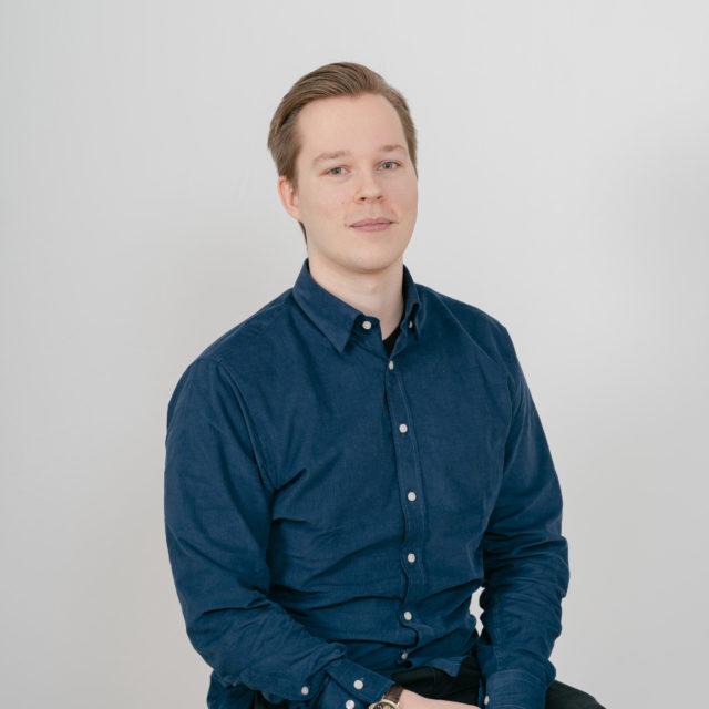 Zeke Sunnercrantz, byggnadsingenjör på Semrén & Månsson Stockholm
