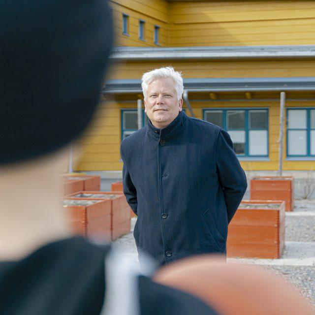 Sverker Karlsson, studiochef på Semrén & Månsson i Göteborg