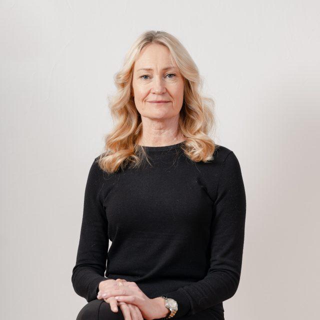Charlotte Wennberg, kontorskoordinator på Semrén & Månsson