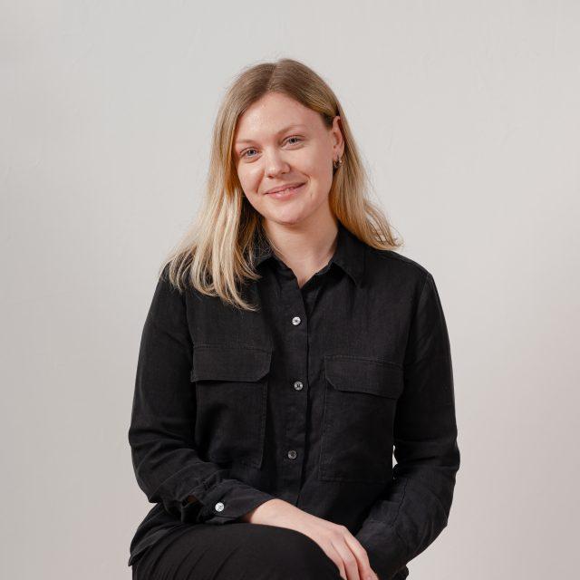 Ellen Lundh, praktikant på Semrén & Månsson