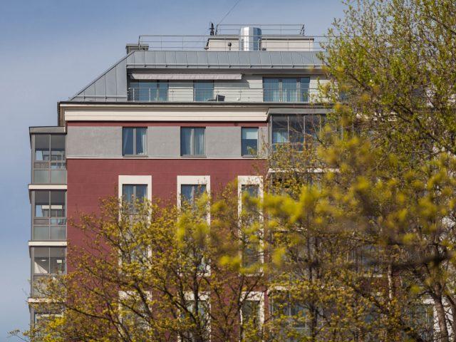 Жилой комплекс в центре Петербурга